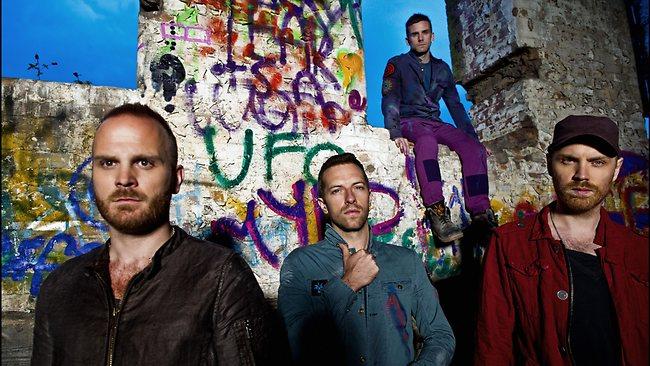 Coldplay vuelven a España en Mayo (Vicente Calderón)