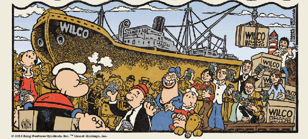 Wilco & Popeye, juntos en Dawned On Me