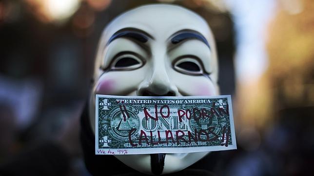 El colectivo Anonymous declara la guerra al Gobierno norteamericano y la industria discográfica