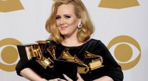 Adele se toma una temporada de descanso después de arrasar en los Grammy. Pero no serán 5 años