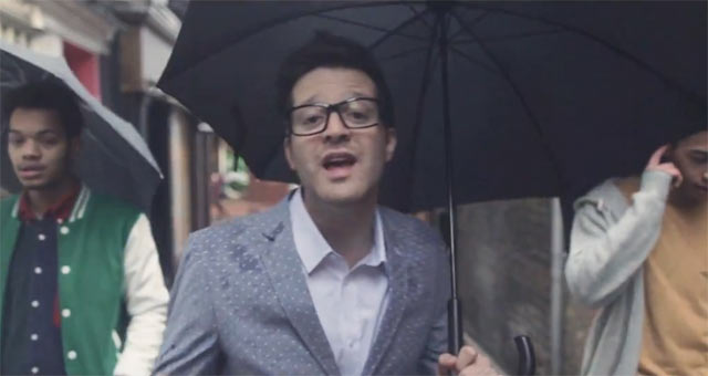 Mayer Hawthorne se da un paseo con Rizzle Kicks en el video para la remezcla de The Walk