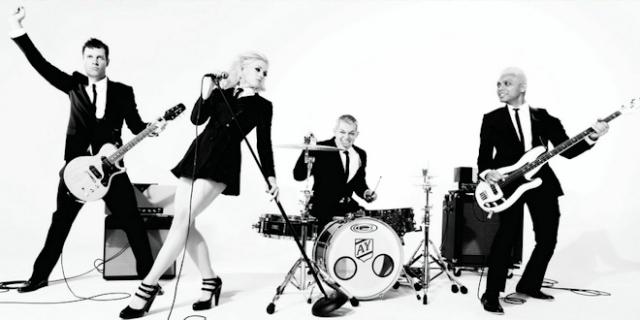 No Doubt en estudio finalizando su nuevo álbum, Push And Shove