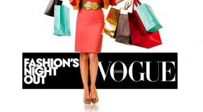 La octava edición de la Vogue Fashion Night Out este año cae en jueves