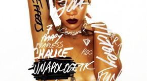 Escucha un adelanto de todas las canciones de Unapologetic de Rihanna