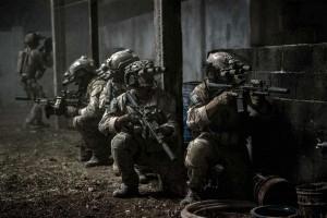 Fotograma de la película que muestra la incursión final.