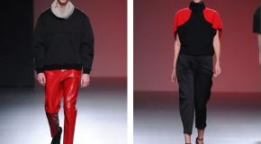 AA de Amaya Arzuaga: Geometría oversize (aw13/14 MB Fashion Week Madrid)