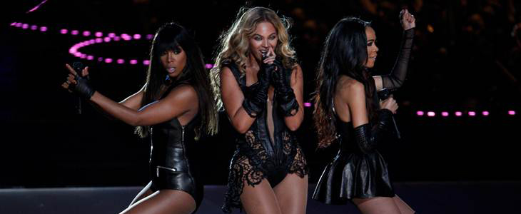 Beyoncé, absoluto animal escénico en la Super Bowl, reúne a Destiny's Child