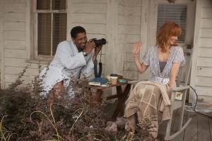"""Denzel Washington y Kelly Reilly en """"El Vuelo""""."""