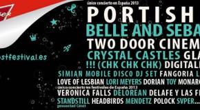 [AGENDA] Sigue ampliándose el cartel del Low Cost Festival: Portishead y Glasvegas entre otros, se suman al evento.