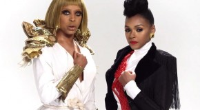 Hit-a-B: Janelle Monáe y Erykah Badu, dos reinonas futuristas en el video de Q.U.E.E.N.