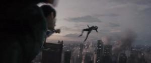 combate entre Superman y Zod