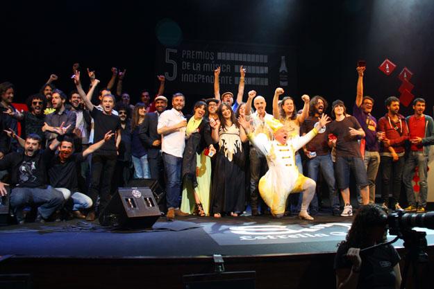 Premios música independiente 2013