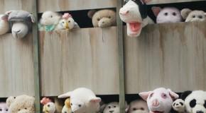 Banksy conciencia sobre la matanza animal con Las sirenas de los corderos
