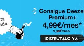 [concurso] Deezer Premium+ al 50%. Sorteamos una suscripción para celebrarlo