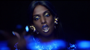 M.I.A., Kenzo y las luces de neón del video de Y.A.L.A.