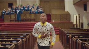 Pharrell Williams estrena el primer videoclip de 24 horas con Happy