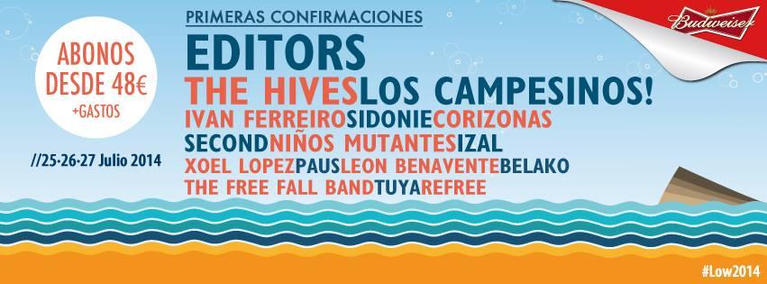 Low Festival-confirmaciones