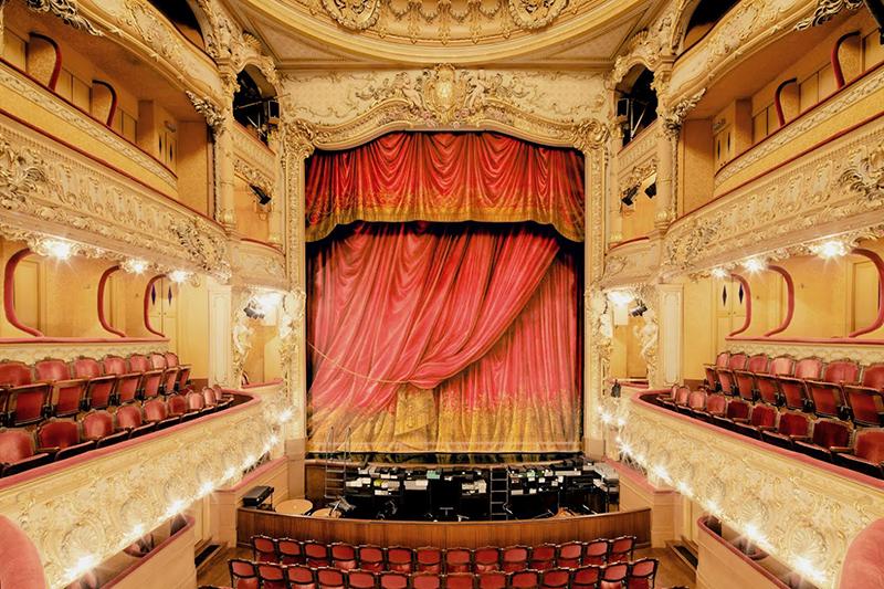 Théâtre de l'Athénée Louis-Jouvet, Paris, 2012 - © Franck Bohbot
