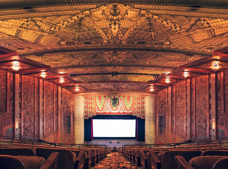 The Paramount Theatre I, Oakland, California, 2014 - © Franck Bohbot