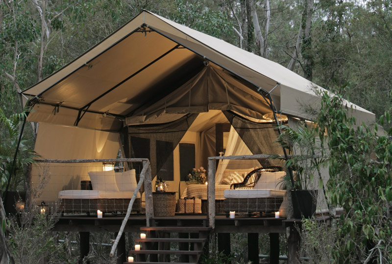 glamping-acampar-con-glamour-Paperbark Camp (Australia)