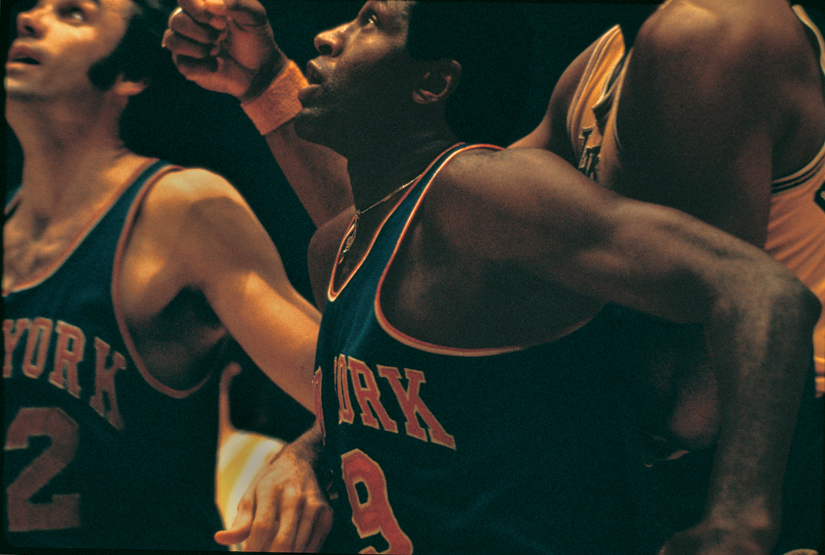 Fotografía deporte Walter Iooss Willis Reed Los Angeles 1970
