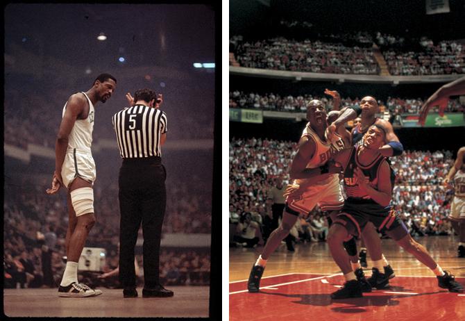 Fotografía deporte Walter Iooss baloncesto