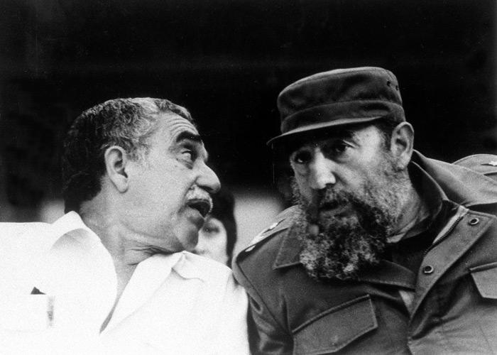 Homenaje Gabriel García Márquez Día del Libro fidel castro