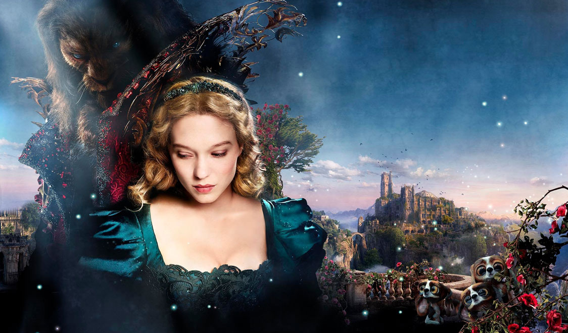 Lea-Seydoux-Vincent-Cassel-bella-bestia-adaptaciones-cuento