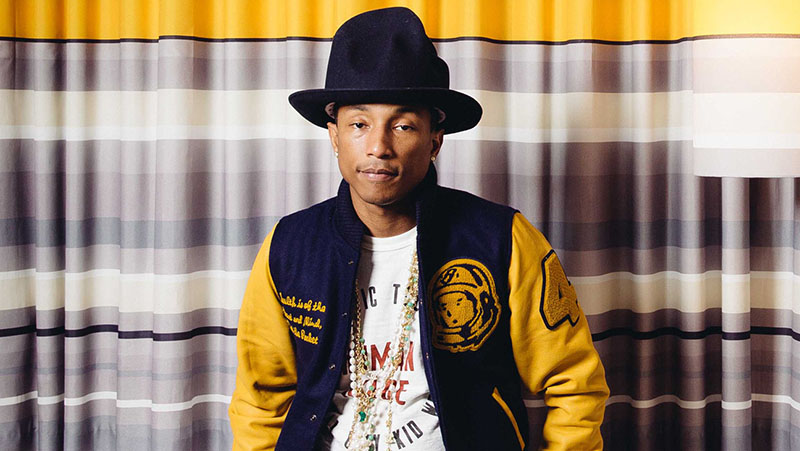 Pharrell Williams, sueños húmedos con Marilyn Monroe
