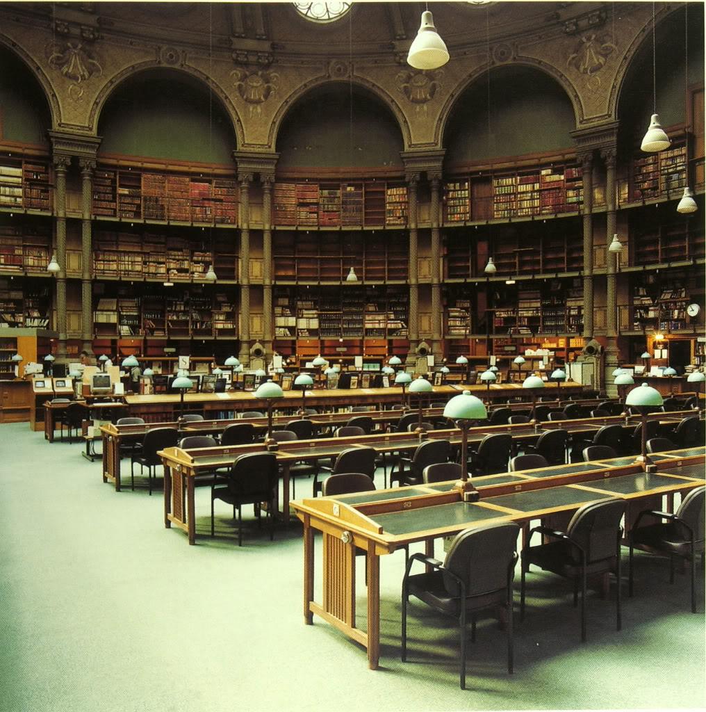 fotografía Candida Höfer Henri Labrouste, Candida Höfer Bibliothèque Nationale de France 2