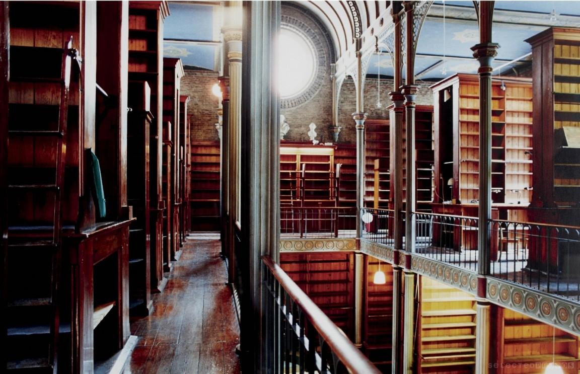 fotografía Candida Höfer Universitats bibliothek Kopenhagen