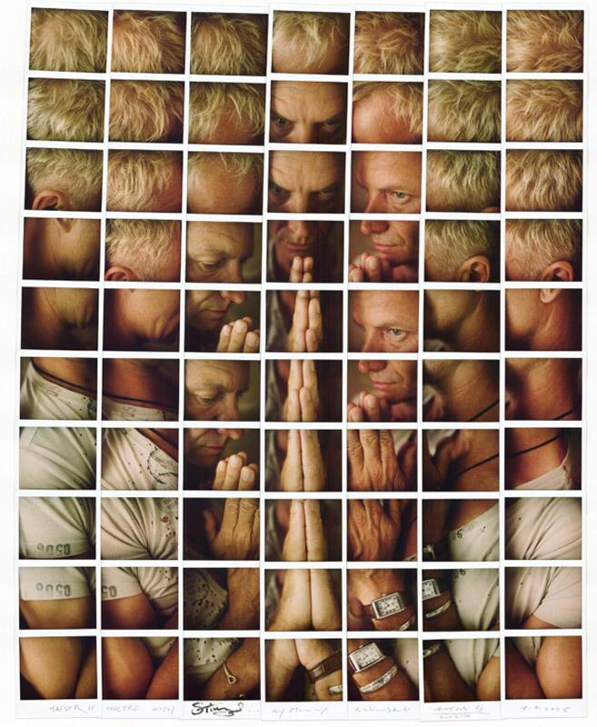 Fotografía - Maurizio Galimberti - Mosaicos polaroid - Sting