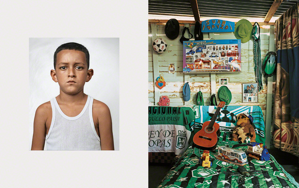 Fotografía, Where children sleep, Juan David,10, Medellin, Colombia
