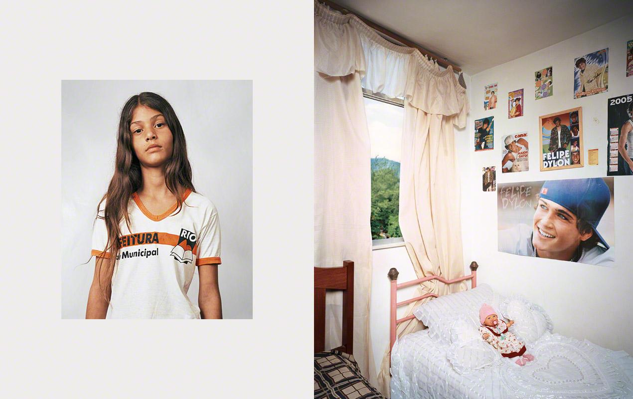 Fotografía, Where children sleep, Thais, 11, Rio de Janeiro, Brazil
