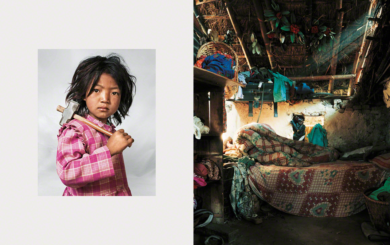 Fotografía, Where children sleep, Indira, 7, Kathmandu, Nepal