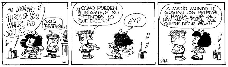 Quino, creador de Mafalda, premio príncipe de Asturias viñeta