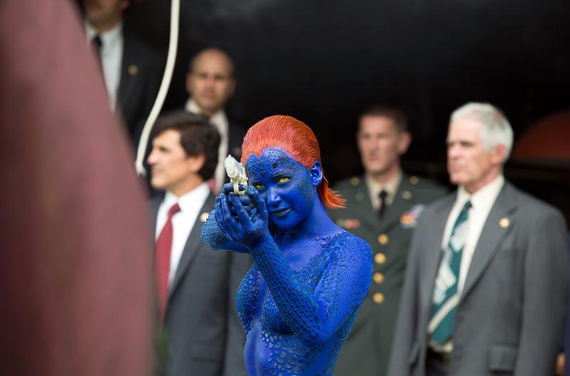 Crítica - X-men, días del futuro pasado - Jennifer Lawrence