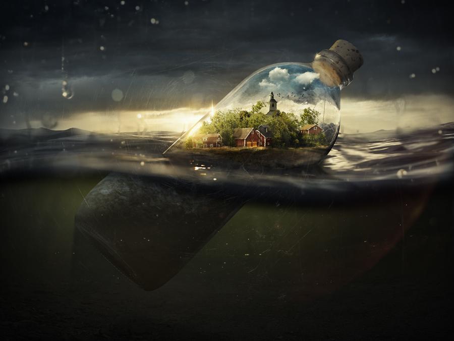 Fotografía - Erik Johansson - driftingaway