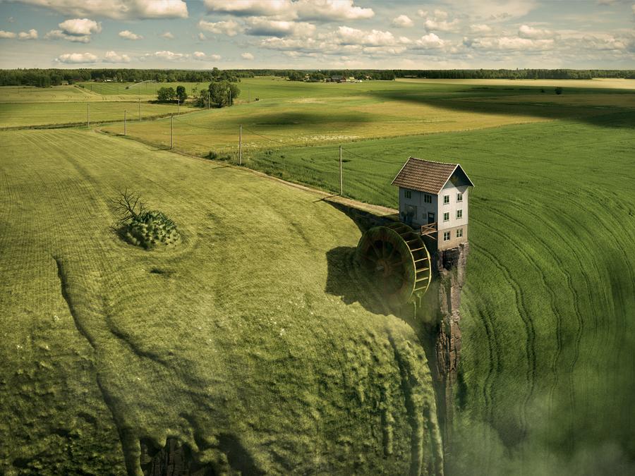 Fotografía - Erik Johansson - landfall