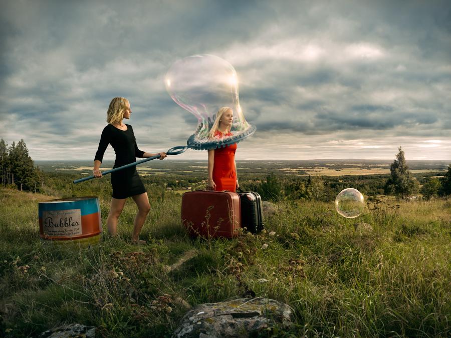 Fotografía - Erik Johansson - letsleave
