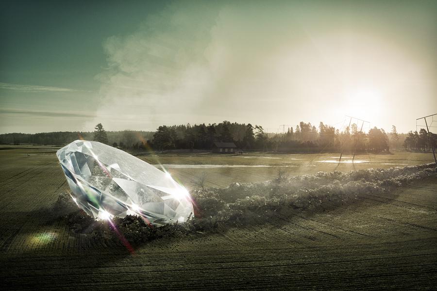 Fotografía - Erik Johansson - diamond