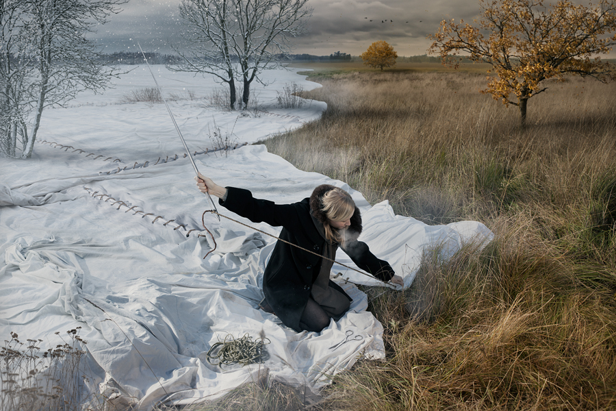 Fotografía - Erik Johansson - expectingwinter