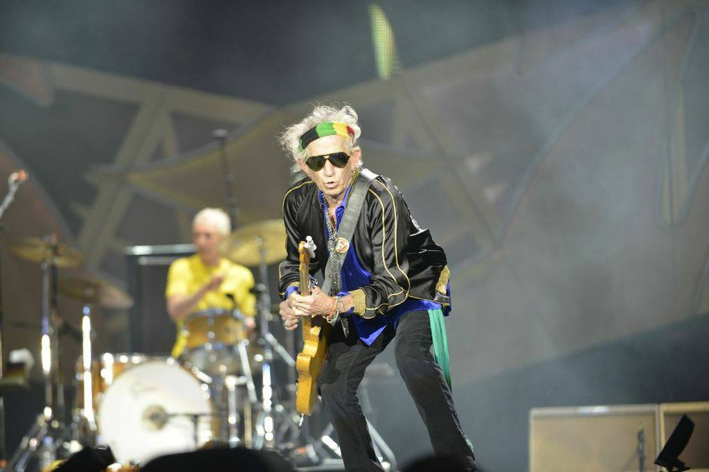 Crónica - The Rolling Stones, Madrid - Keith Richards