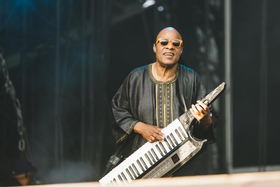 Crónica - Stevie Wonder - Calling Festival 1