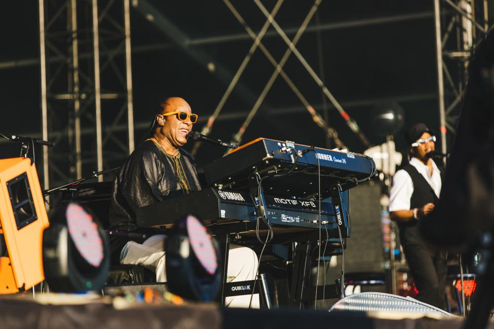 Crónica - Stevie Wonder - Calling Festival 3
