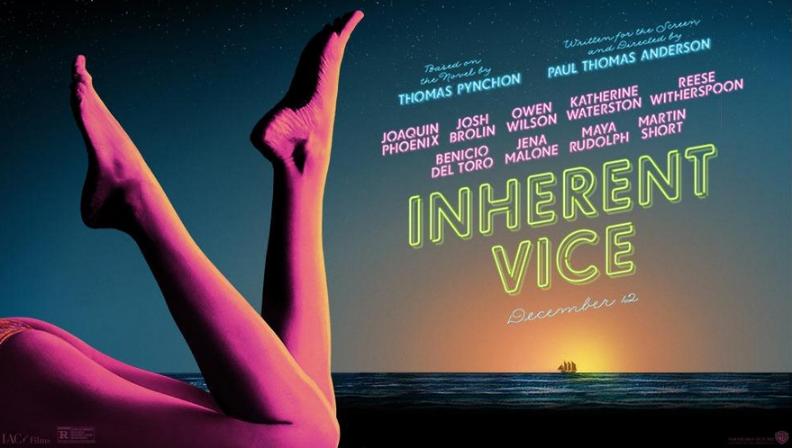 Trailer - Inherent Vice - Paul Thomas Anderson - Poster