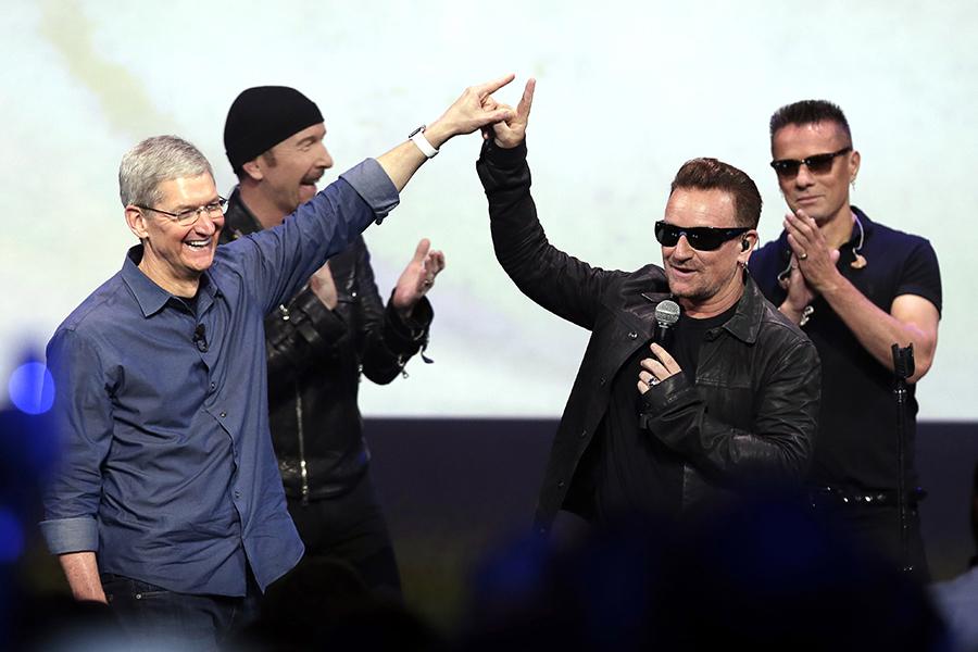 ¿Quién es U2 y por qué está en mi iPod?