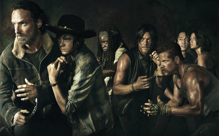 Tríptico de zombies televisivos: The Walking dead, In the flesh y Les Revenants