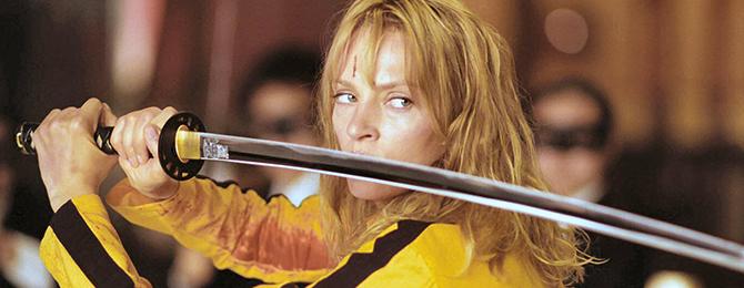 Cine Salvaje - Kill Bill, Uma Thurman