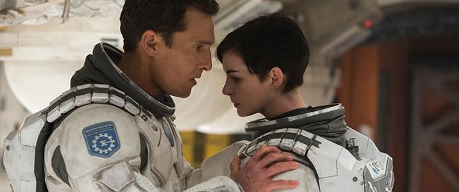 Crítica Interstellar, McConaughey y Anne Hathaway